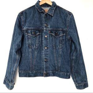 Vintage Levi's Denim Trucker Jacket Made In Canada